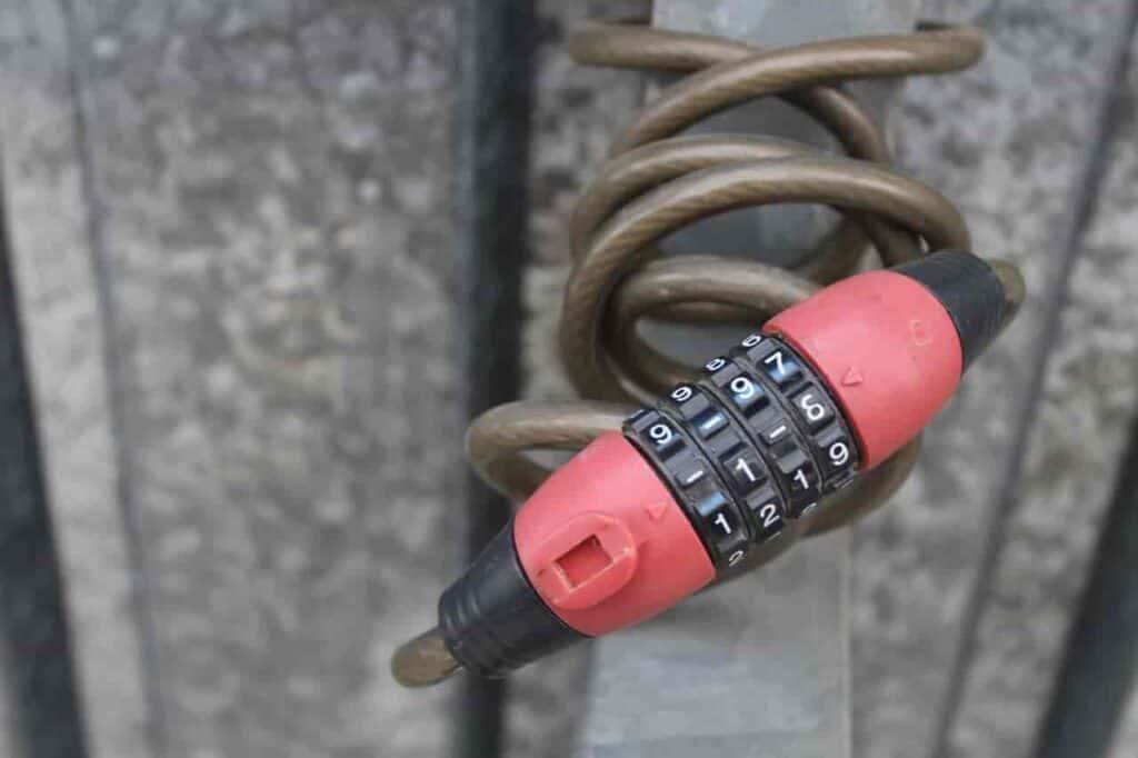 dont use cheap lock