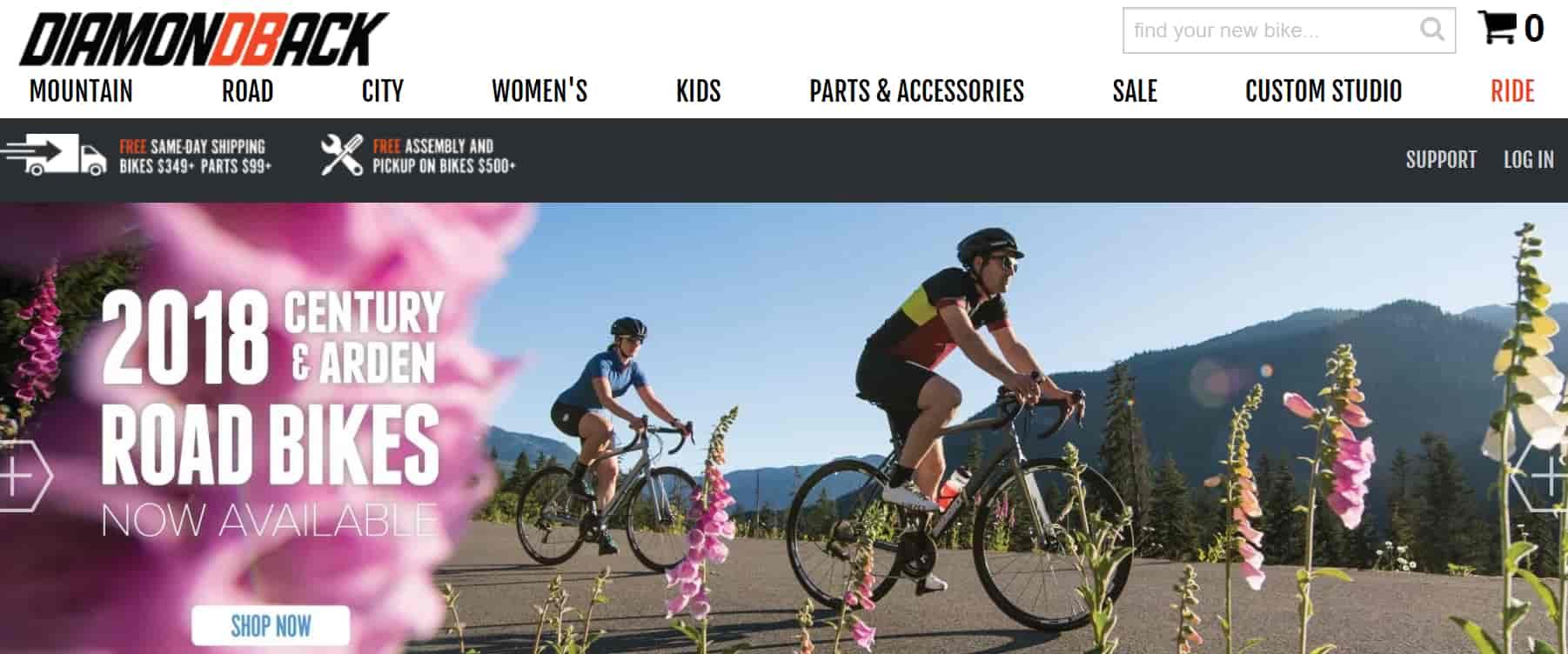 diamondback company bike : Testing & reviewing