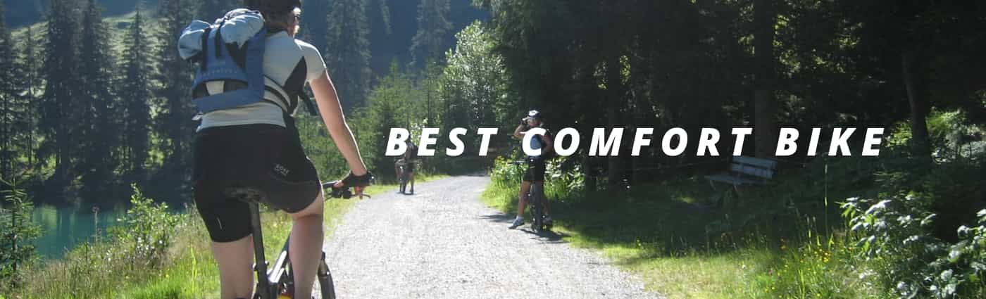 riding a comfort_bike